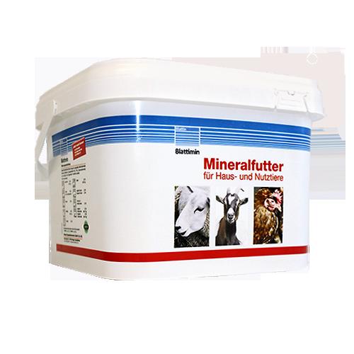 Blattimin® Mineralfutter für Haus- und Nutztiere