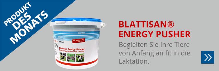 Produkt des Monats: Blattisan® Energy Pusher